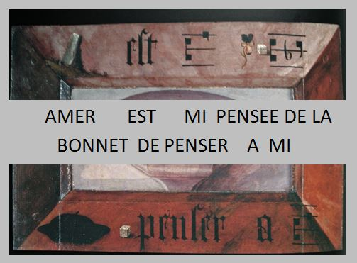 Jan Provoost 1522 Diptyque rebus Sint Janshospitaal Bruges