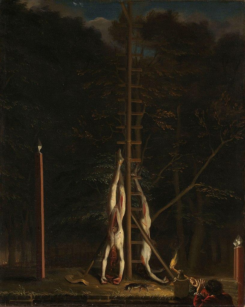 Jan_de_Baen-_De_lijken_van_de_gebroeders_de_Witt 1648 Rijksmuseum
