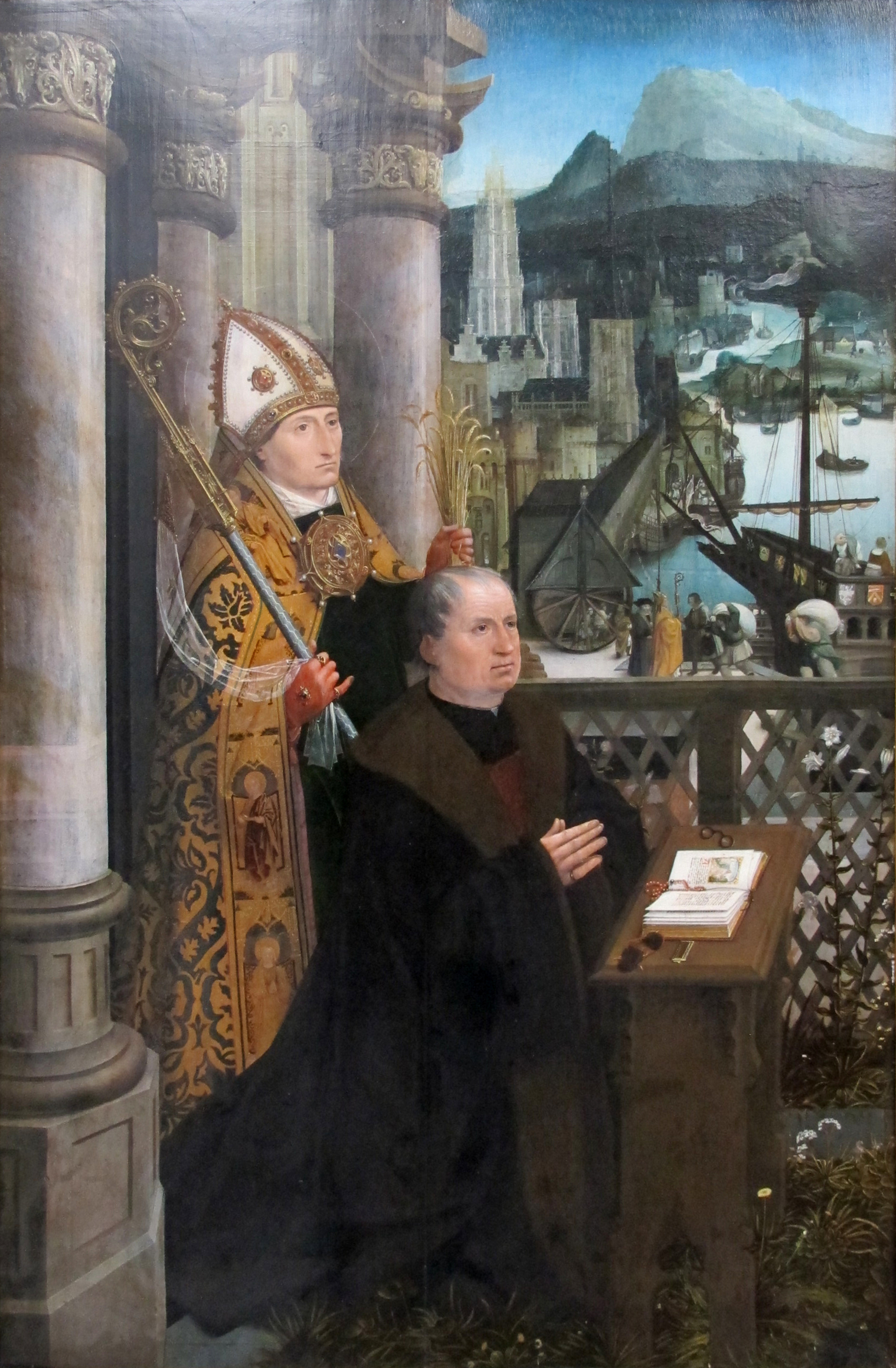 Jan_provost,_Donor with St Nicholas and his Wife with St Godelina_1515-1521_ca._02