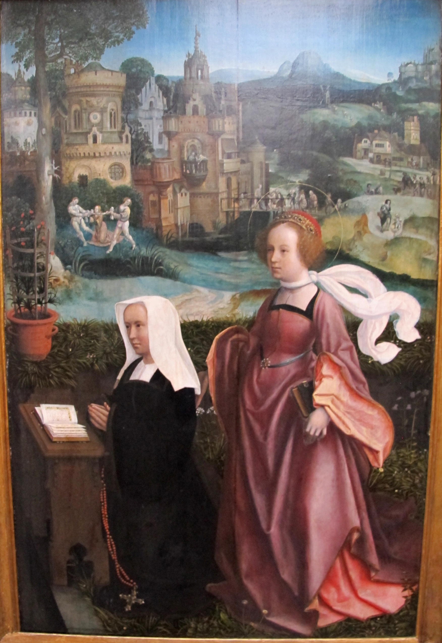 Jan_provost,_Donor with St Nicholas and his Wife with St Godelina_1515-1521_ca._05