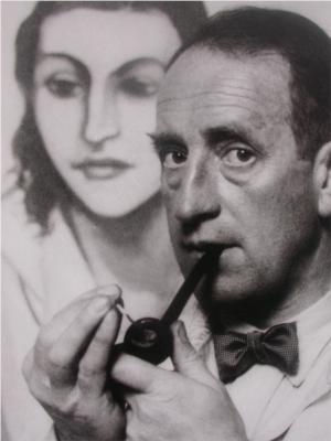 Max Pechstein avant 1933, photographie Ewald Hoinkis
