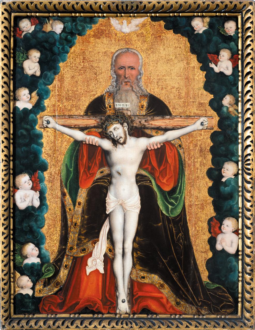 Meister IW 1530 Trinite Diozesangalerie und -museum, Litomerice