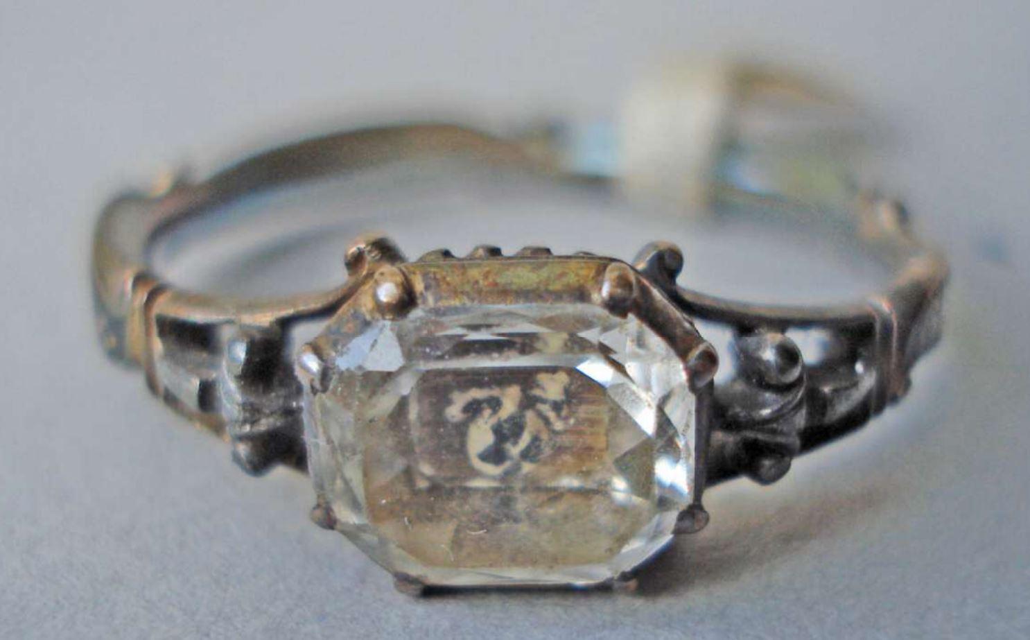 Mourning ring 1731 GEORGE BUCHANAN British Museum