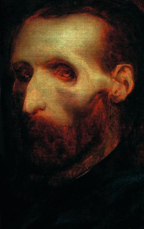 Portrait posthume de Gericault 1824 ca Musee de Rouen