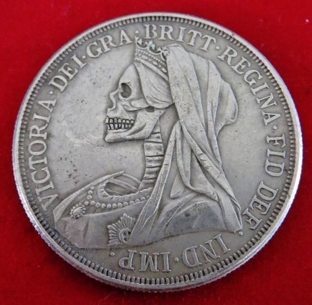 Victoria crown 1893 (un quart de livre, argent) Hobo