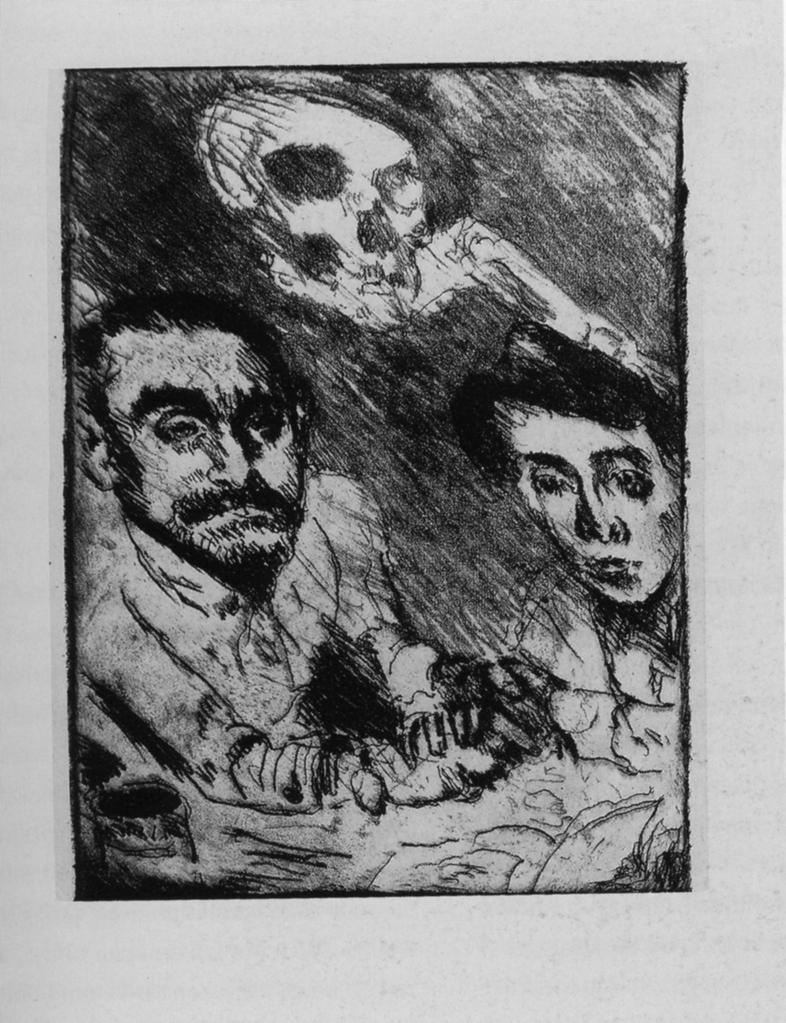 corinth 1922 Totentanz 5 Tod bei Strucks