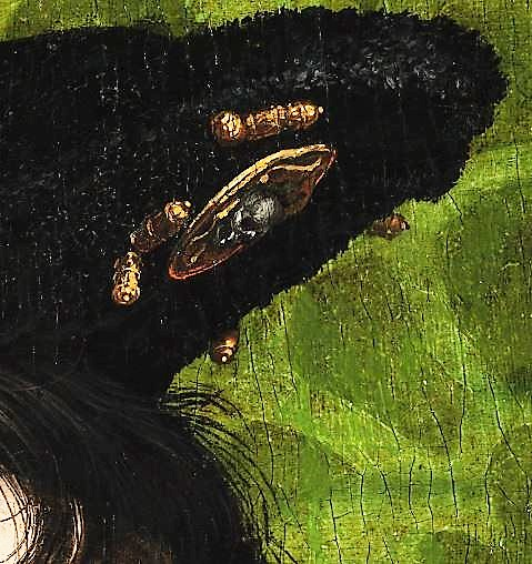 holbein_the_younger_-_the_ambassadors_-_google_art_project detail epingle