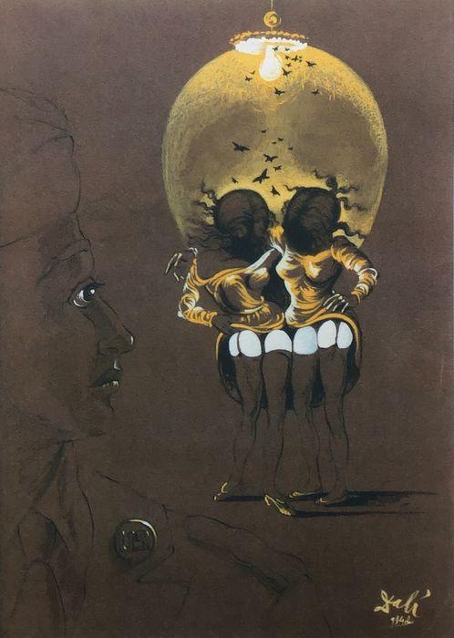 illusion Dali 1942 Campagne contre les maladies veneriennes