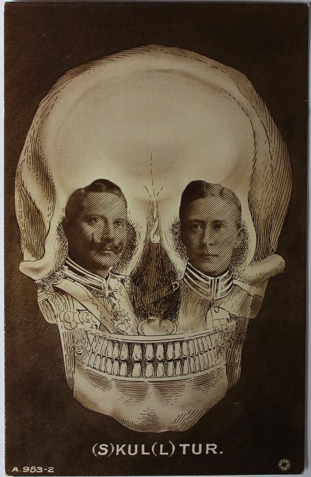 illusion politque 1905-10 skulltur