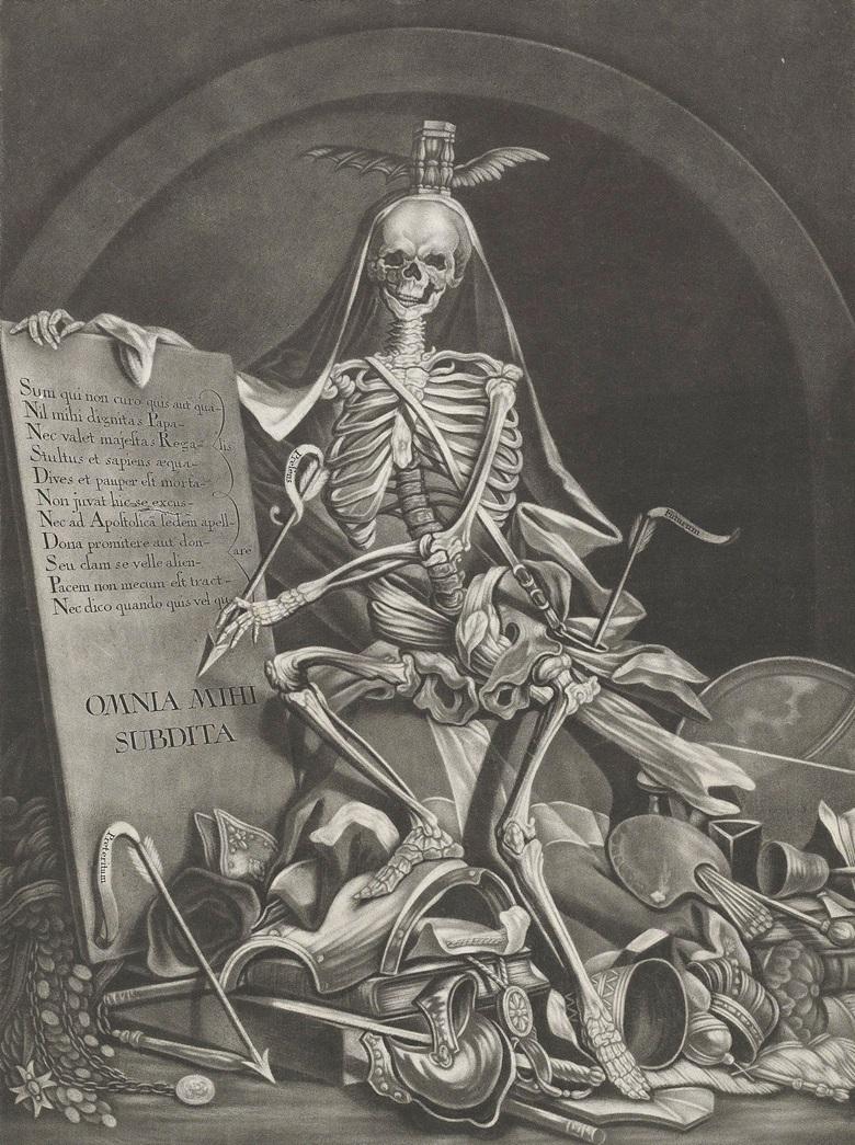 johann-jacob-ridinger-after-johann-elias-ridinger-the-rule-of-death 1760