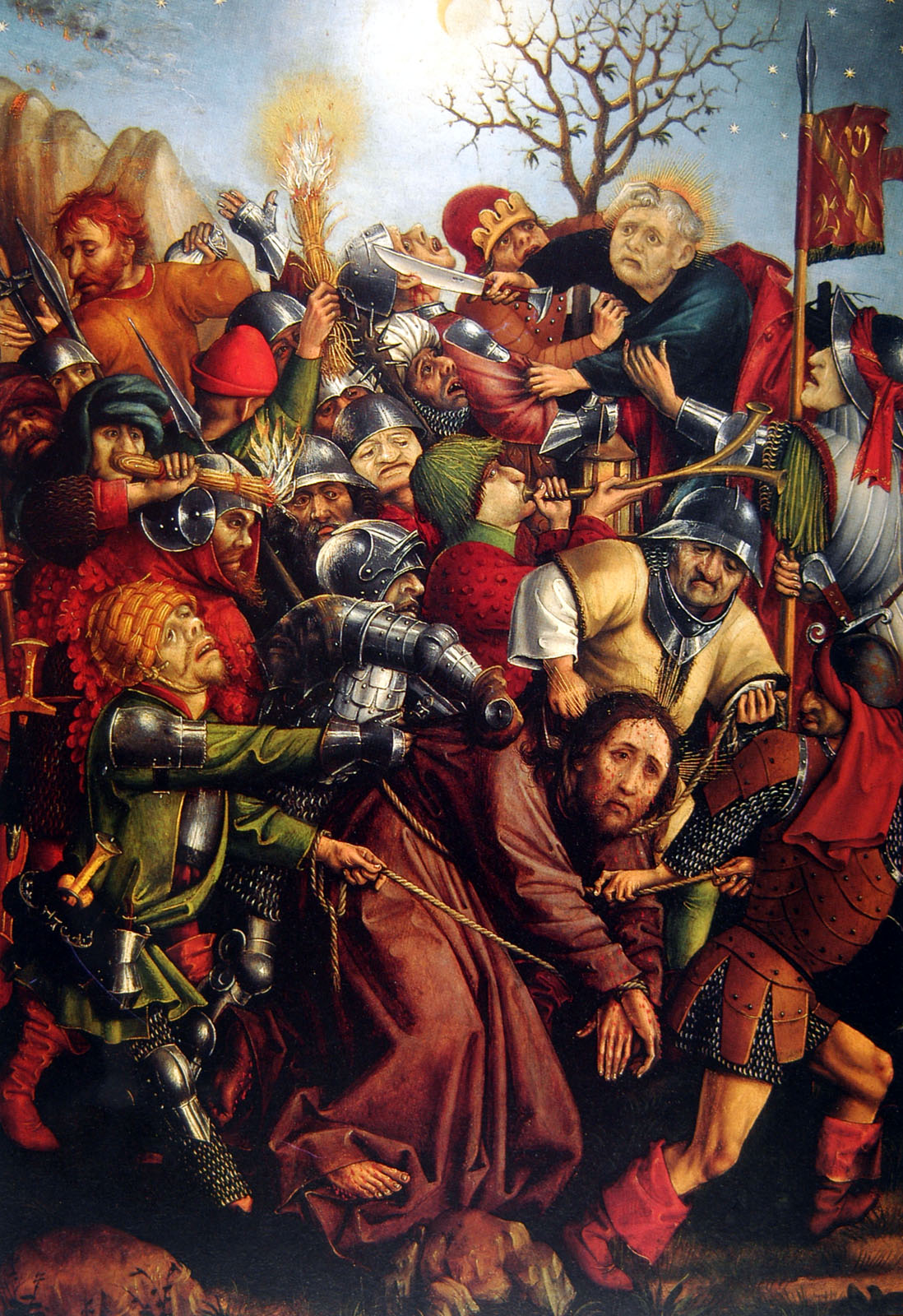 1450 ca Master_of_the_Karlsruhe_Passion _Arrest_of_Christ Wallraf–Richartz Museum Cologne