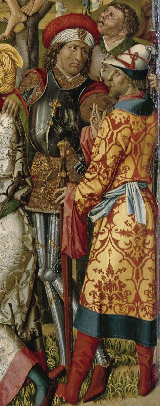 1477 Master of 1477, CalvaryBayerische Staatsgemaldesammlungen, Augsburg reflet