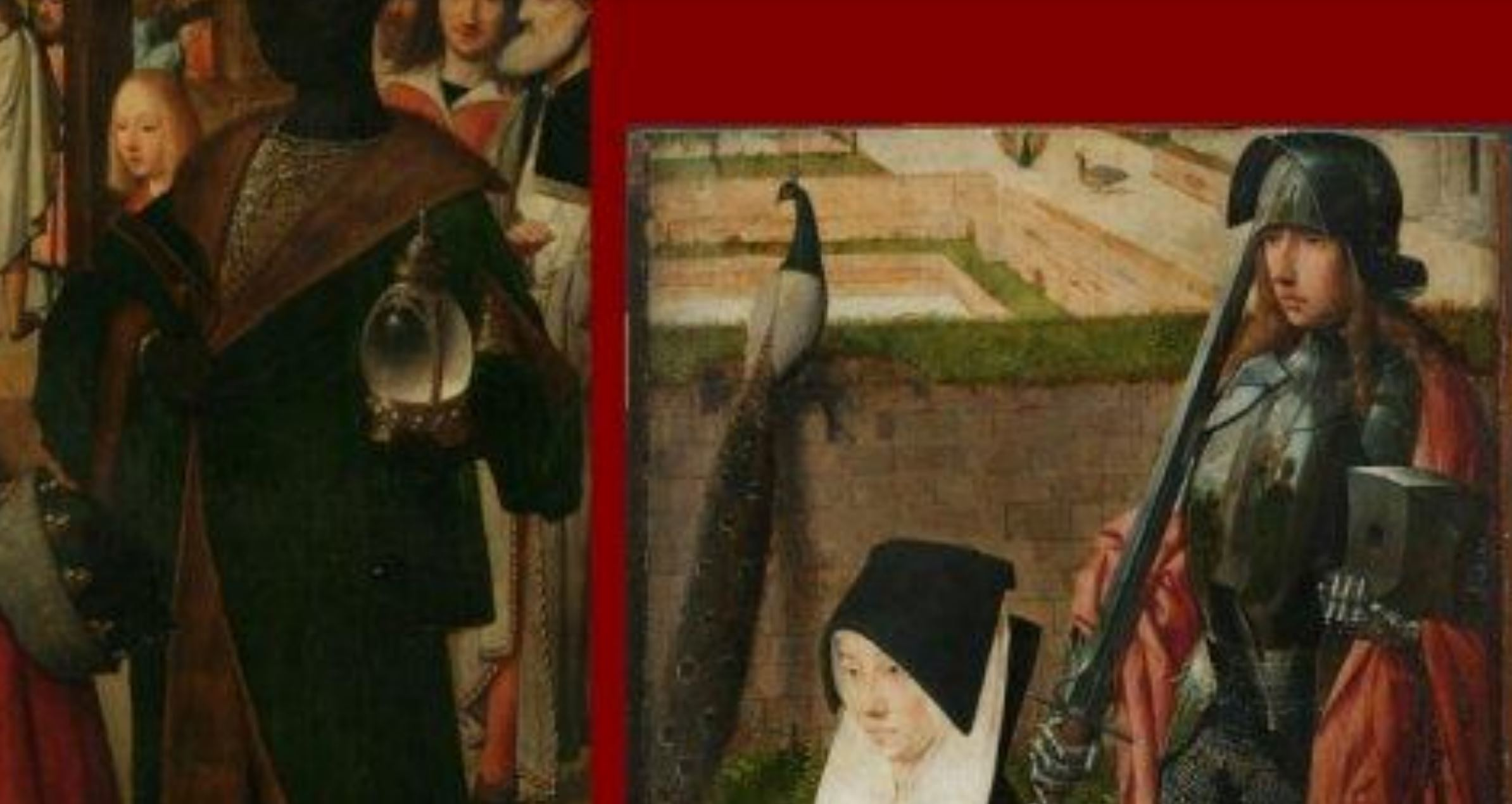 1485 ca Geertgen tot Sint Jans Adoration of the Magi, Narodni galerie Prague detail