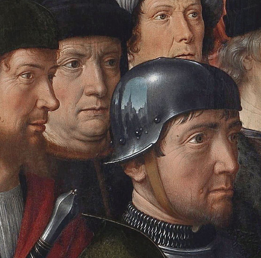 1498 Gerard_David _The_Judgment_of_Cambyses,_panel_1_-_The_capture_of_the_corrupt_judge_Sisamnes detail
