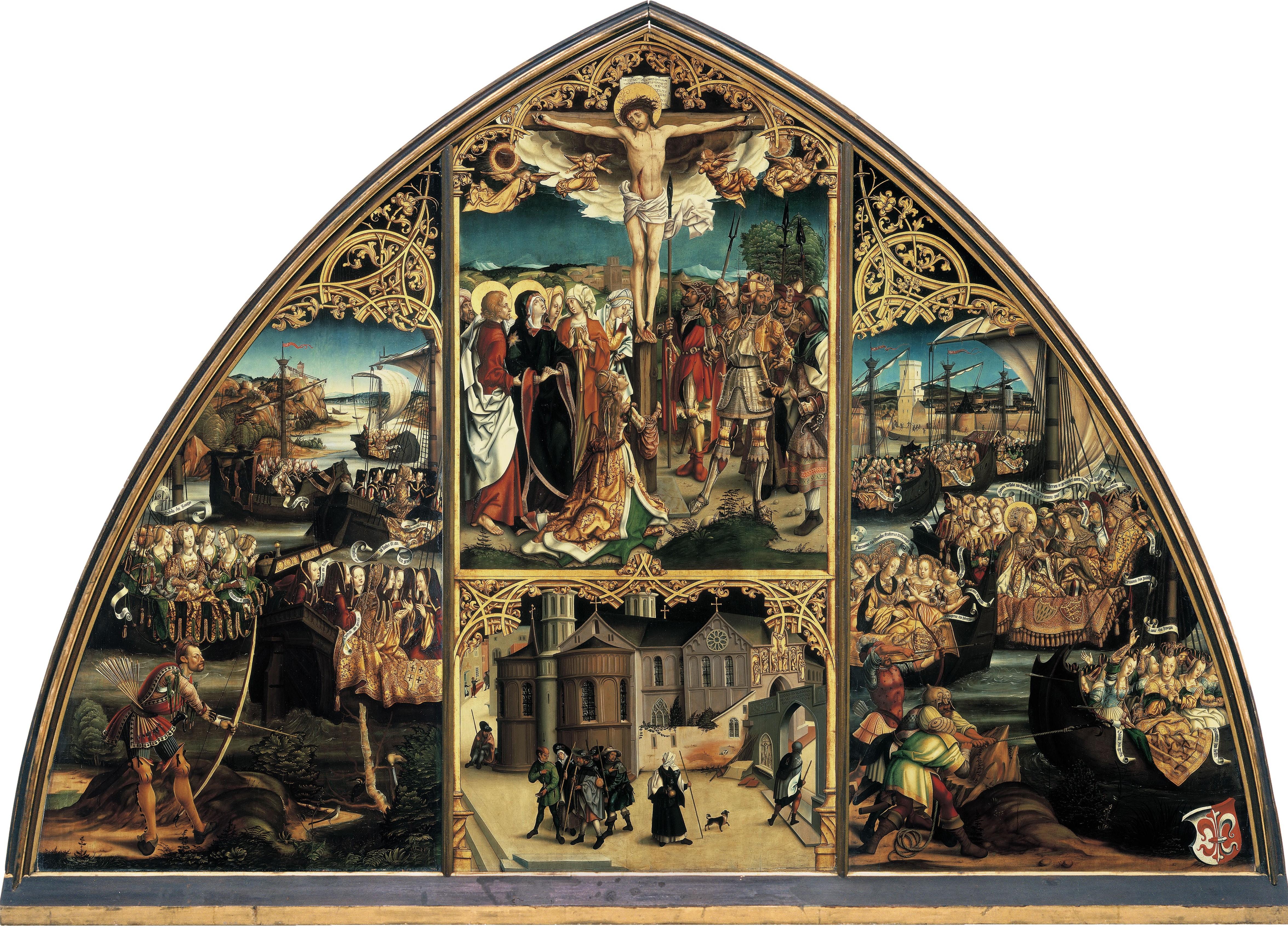 1504, Burgkmair_S. Croce in Gerusalemme, Bayerische Staatsgemaldesammlungen, Augsburg,