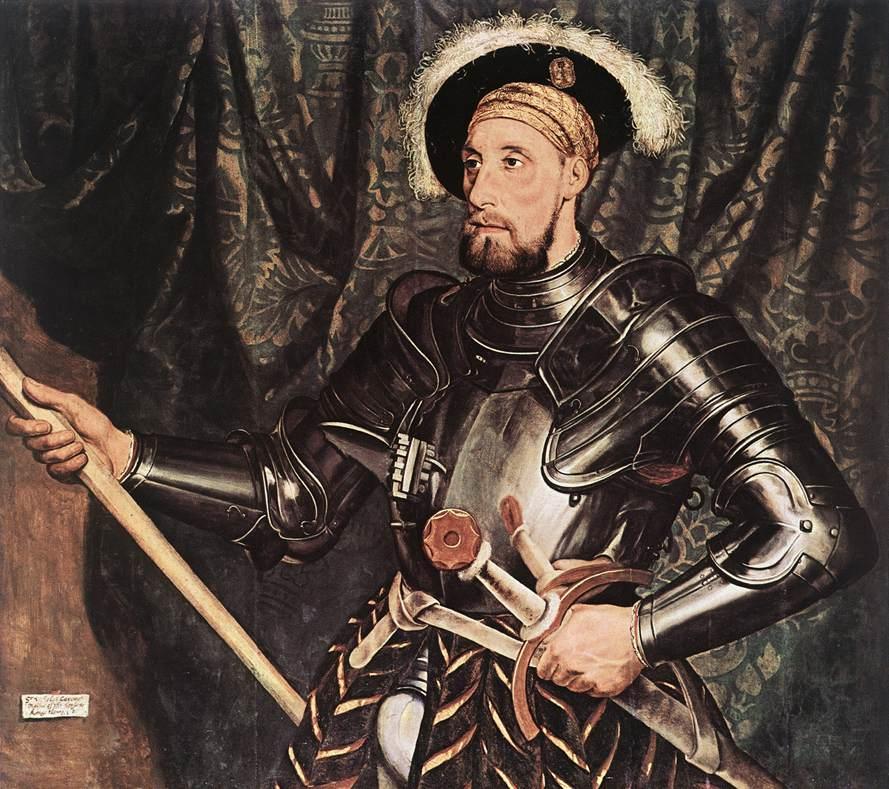 1532-33 Hans Holbein il giovane Ritratto di Sir Nicholas Carew Drumlanrig Castle, Thornhill