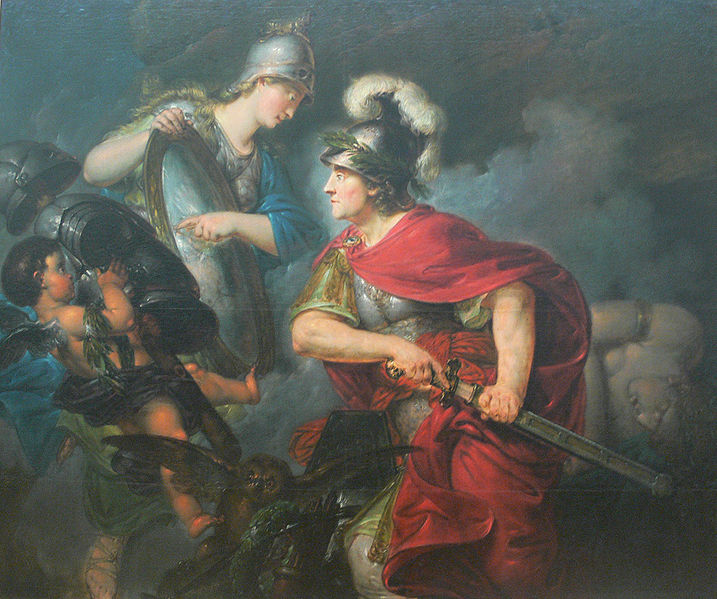 1756 Bernhard Rode Frederick the Great as Perseus musee Bode Berlin