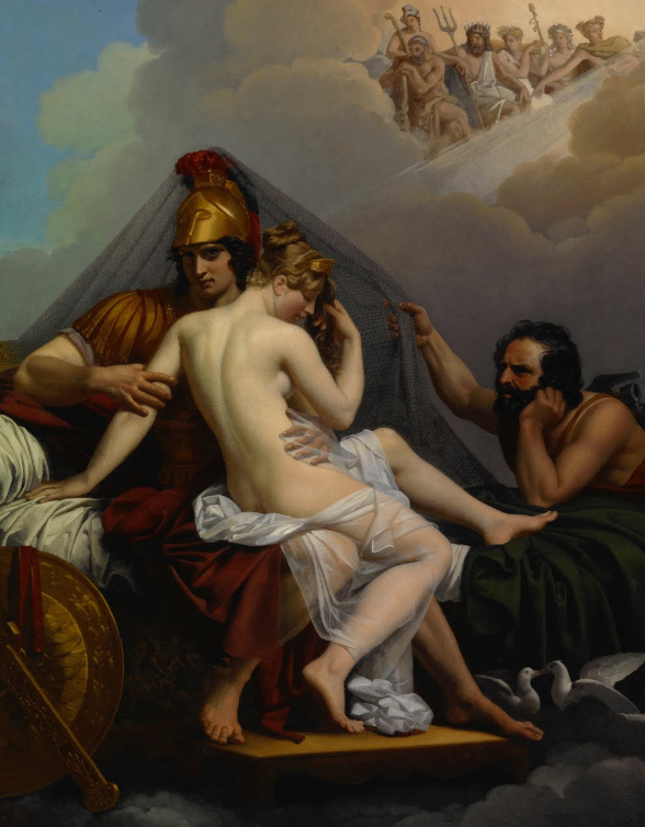 Alexander Charles Guillemot – Mars and Venus Surpirsed by Vulcan 1827