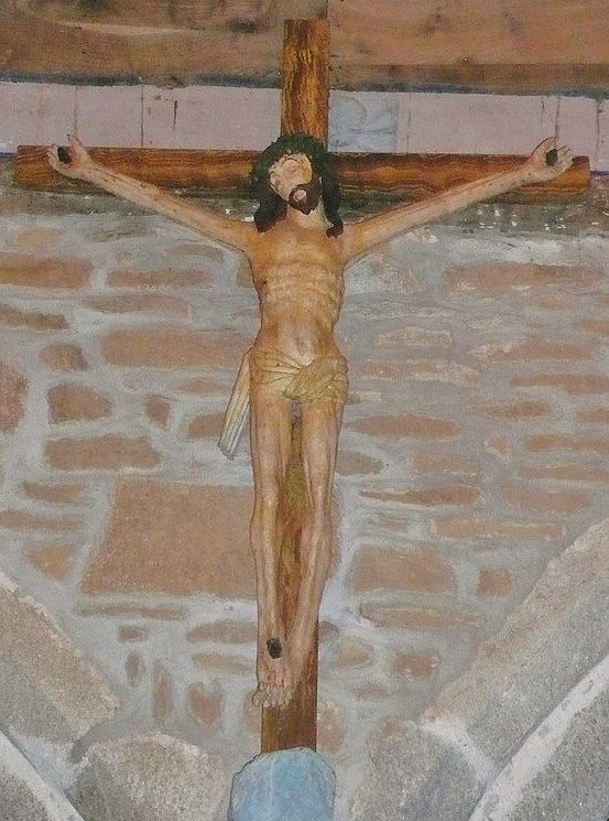 Christ_jaune Chapelle ND de Tremalo Pont Aven