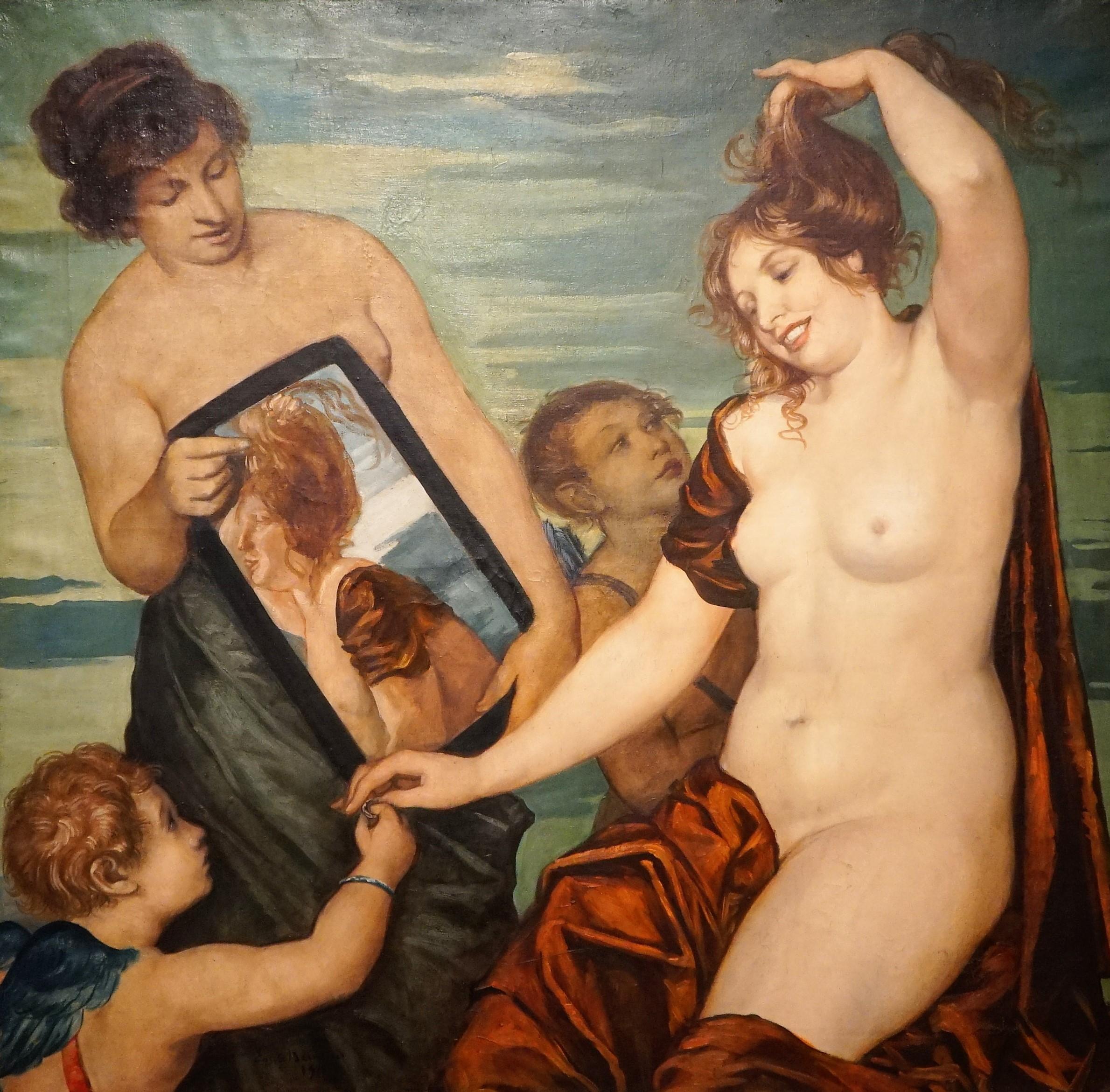 Emile-Bernard 1910 Toilette de Venus Musee des BA Reims