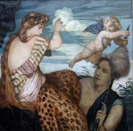 Emile-Bernard 1911 Hercule-et-Omphale Musee des BA Reims