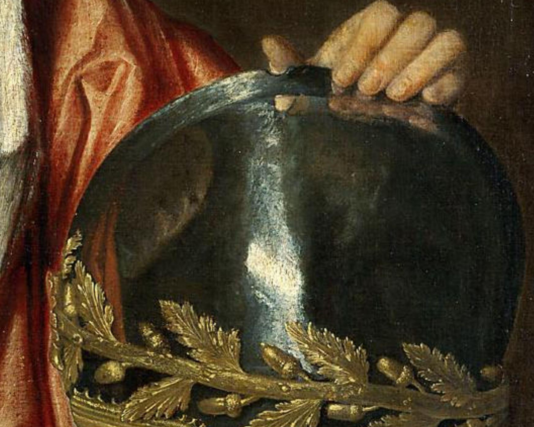 Francesco Maria Della Rovere Giorgione 1502 Kunsthistorisches Museum Vienne detail