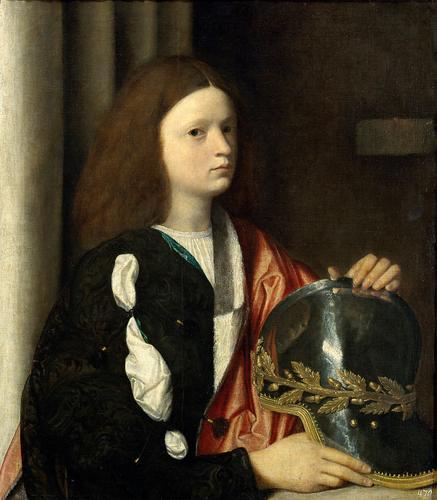 Francesco Maria Della Rovere Giorgione 1502 Kunsthistorisches Museum Vienne