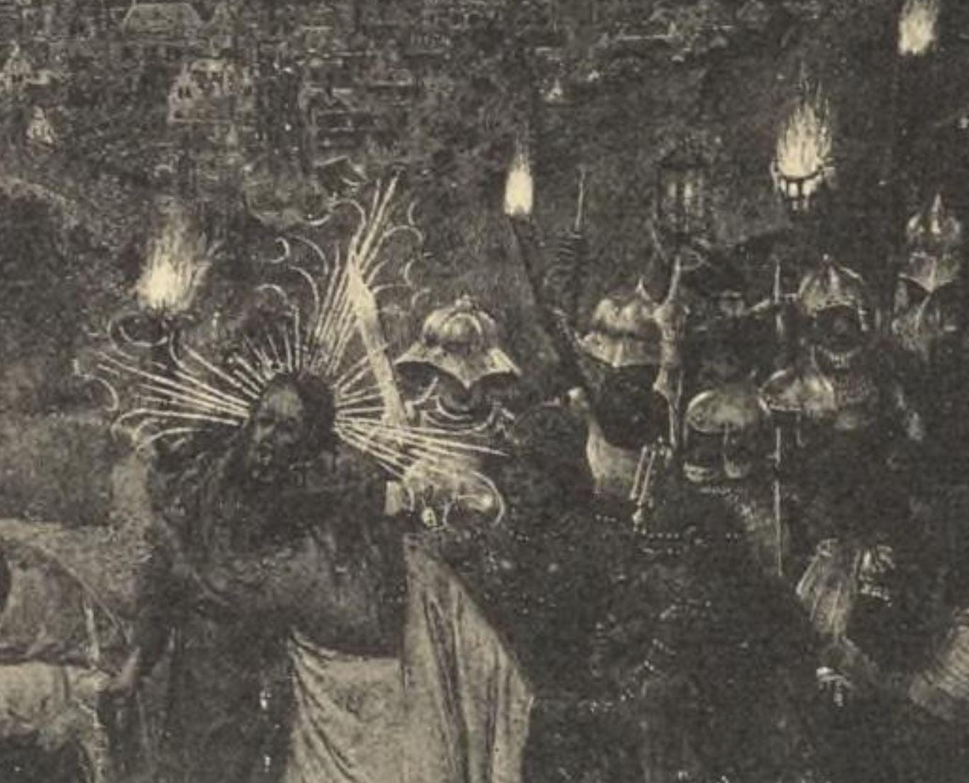 Heures de Turin Milan photo durrieu (detruit en 1904) fol 24 planche XV detail