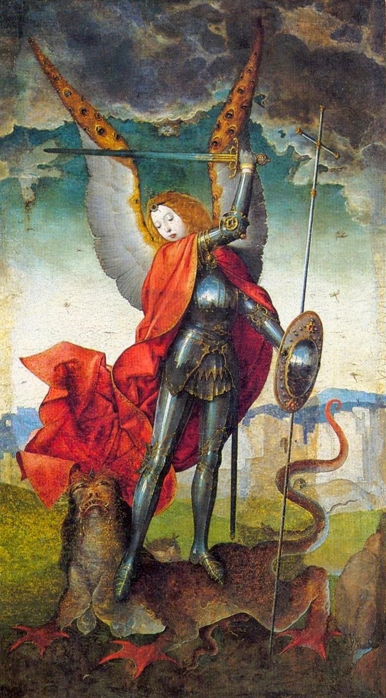 JUAN DE FLANDES 1504 ca Tabla del Retablo de San Miguel Catedral Vieja, Musee diocesain Salamanca