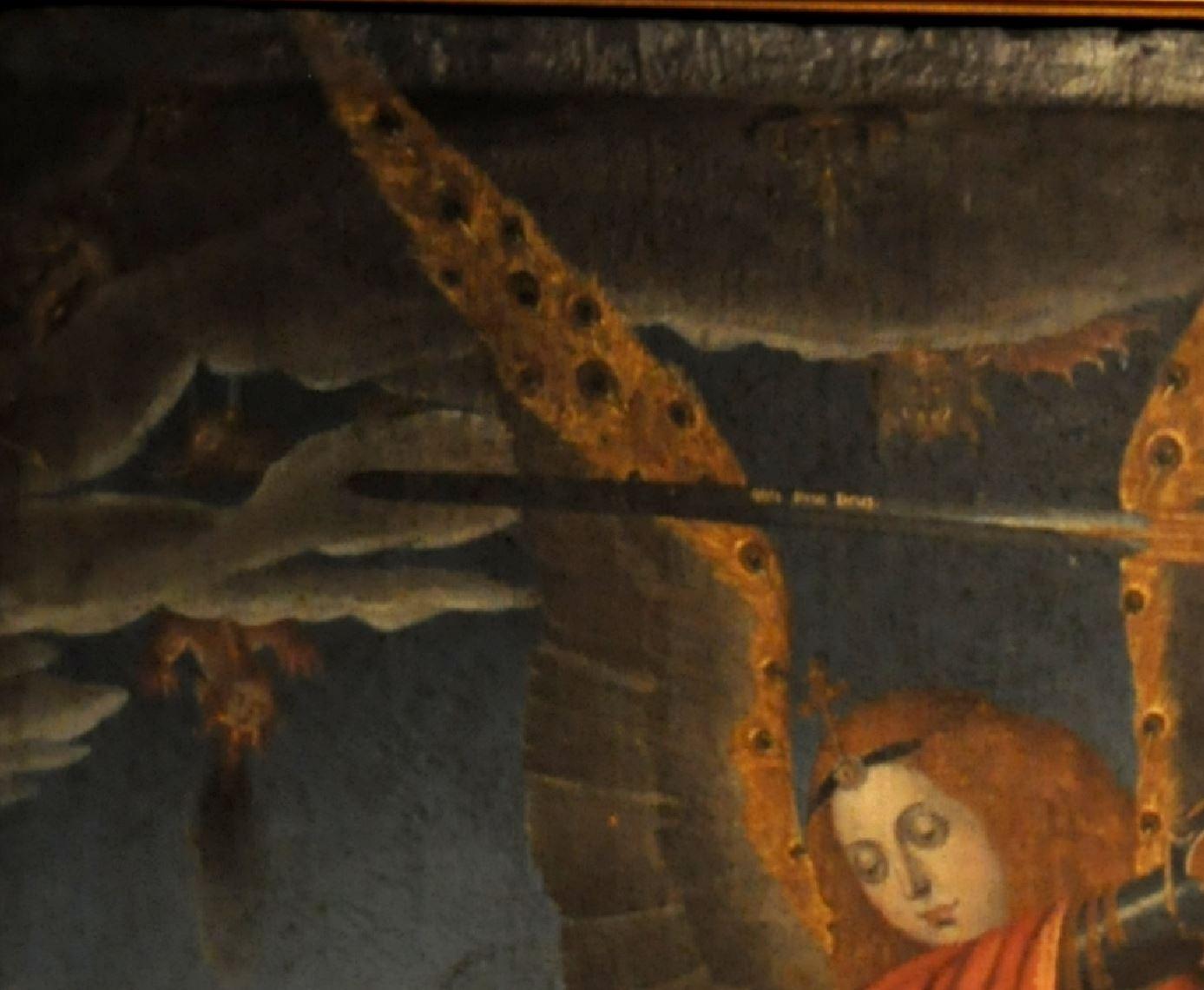 Juan Perez Casatus (1587) ,copie JUAN DE FLANDES Musee diocesain Salamanca