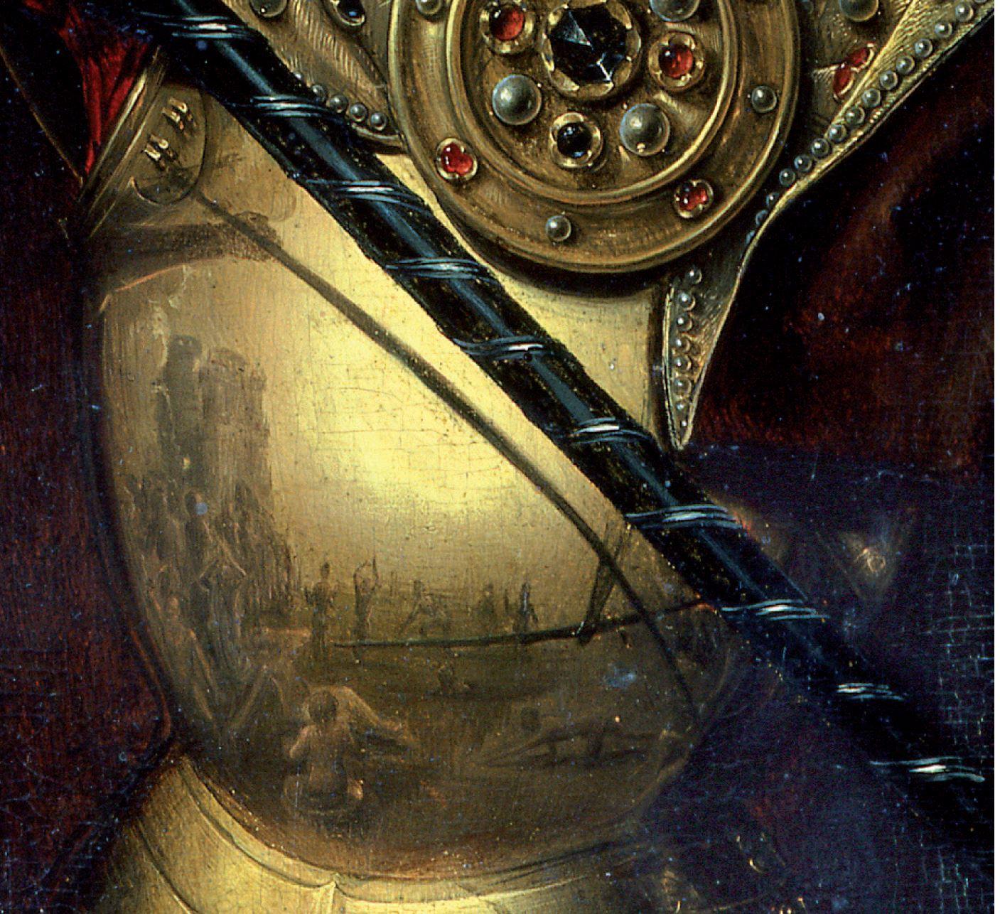 Memling 1467-1471 Jugement dernier Gdansk armure