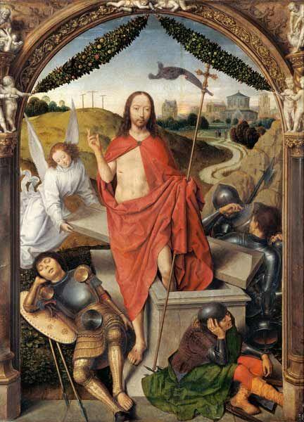 Memling 1490 Trittico della Resurrezione, Museo del Louvre