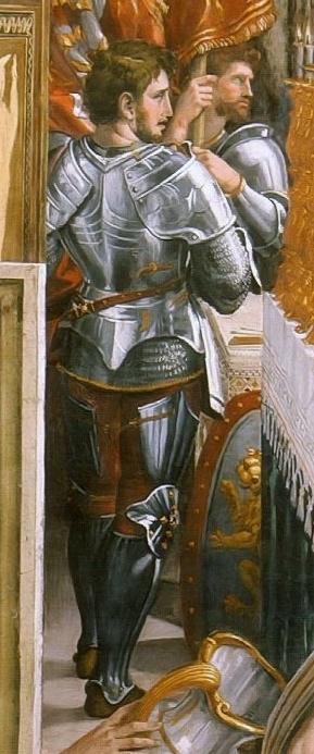 Raphel Couronnement de Charlemagne