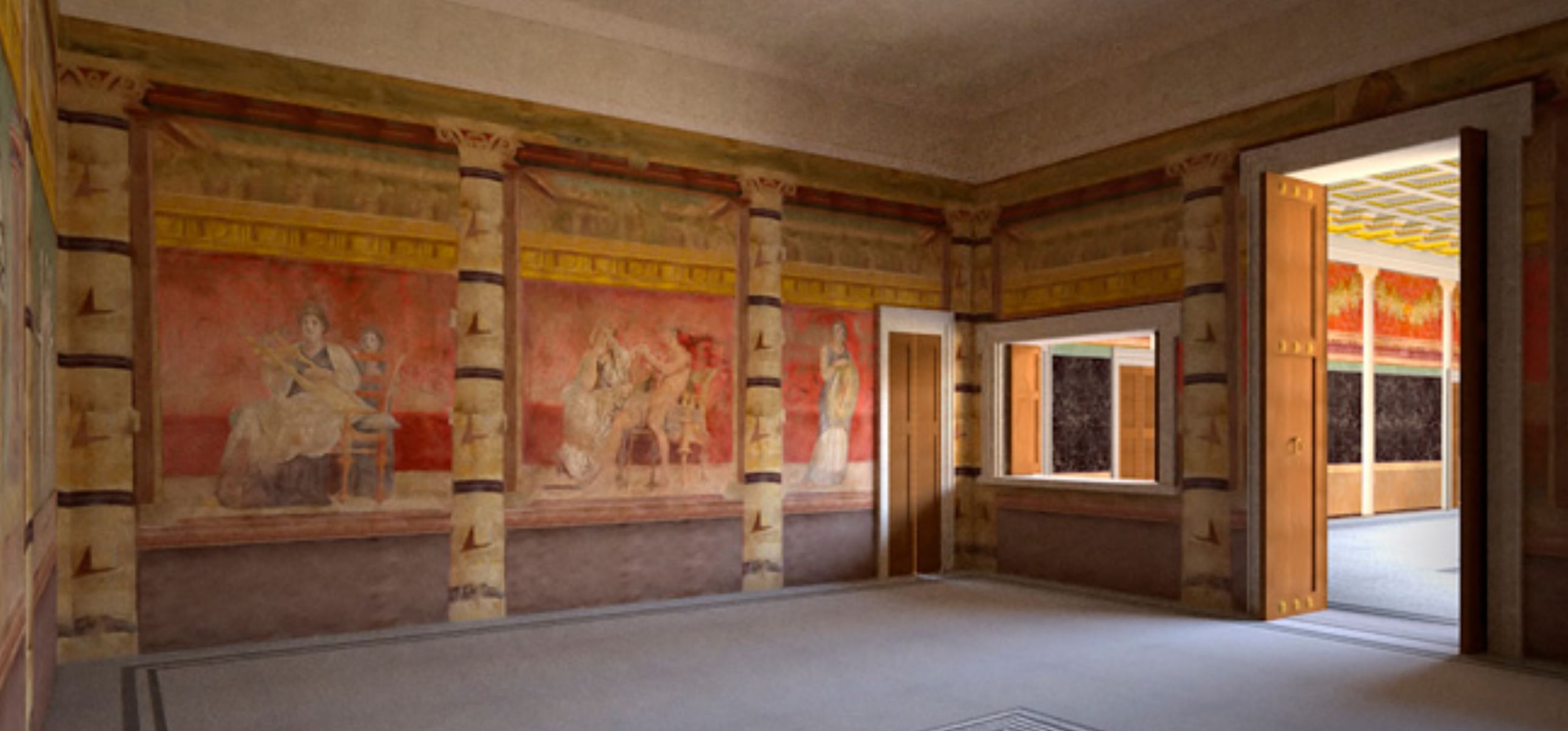 Room H of the Villa of P. Fannius Synistor at Boscoreale, ca. 40–30 B.C mur Est