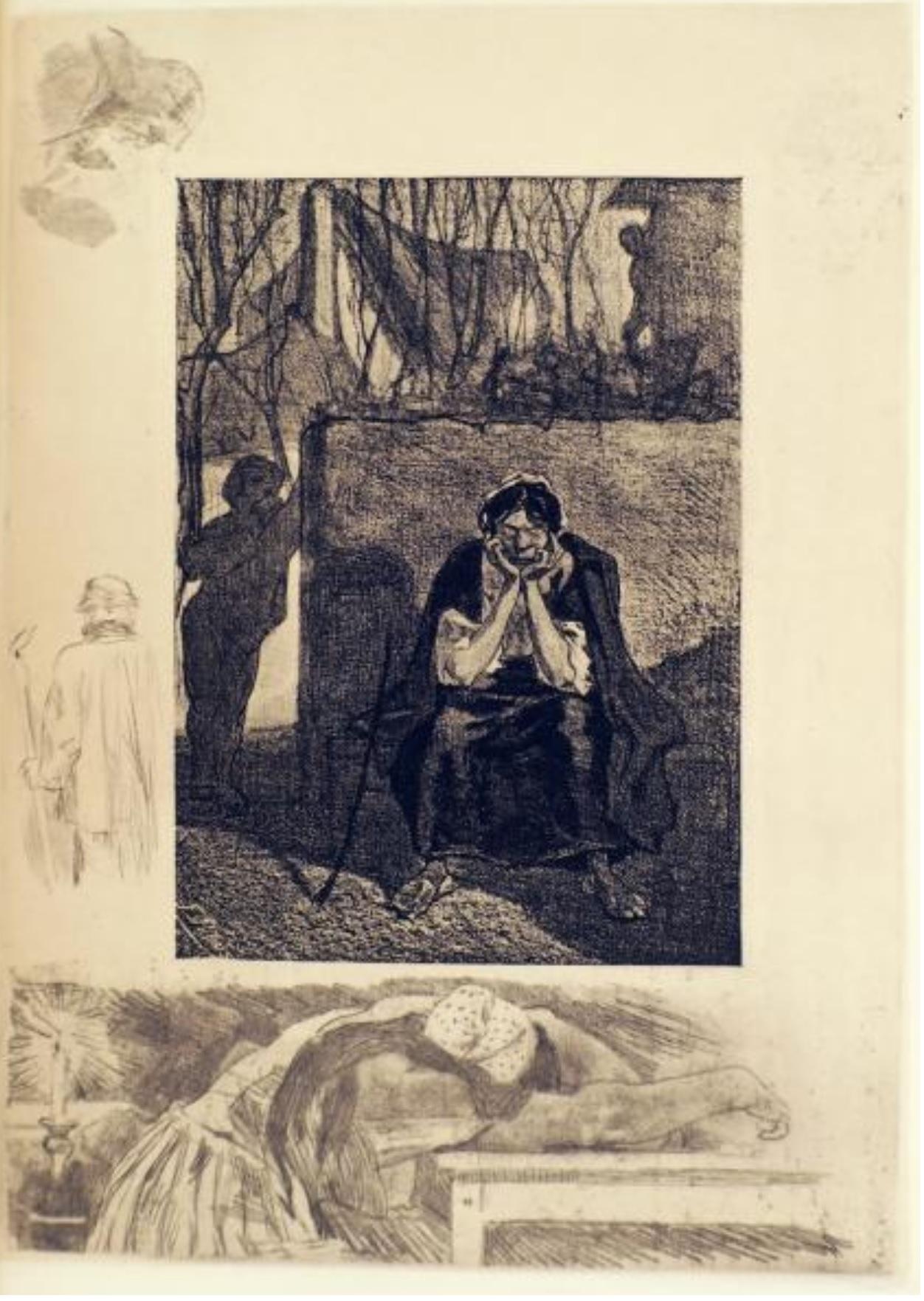 Rops 1891 Li Sotte Marie-josephe