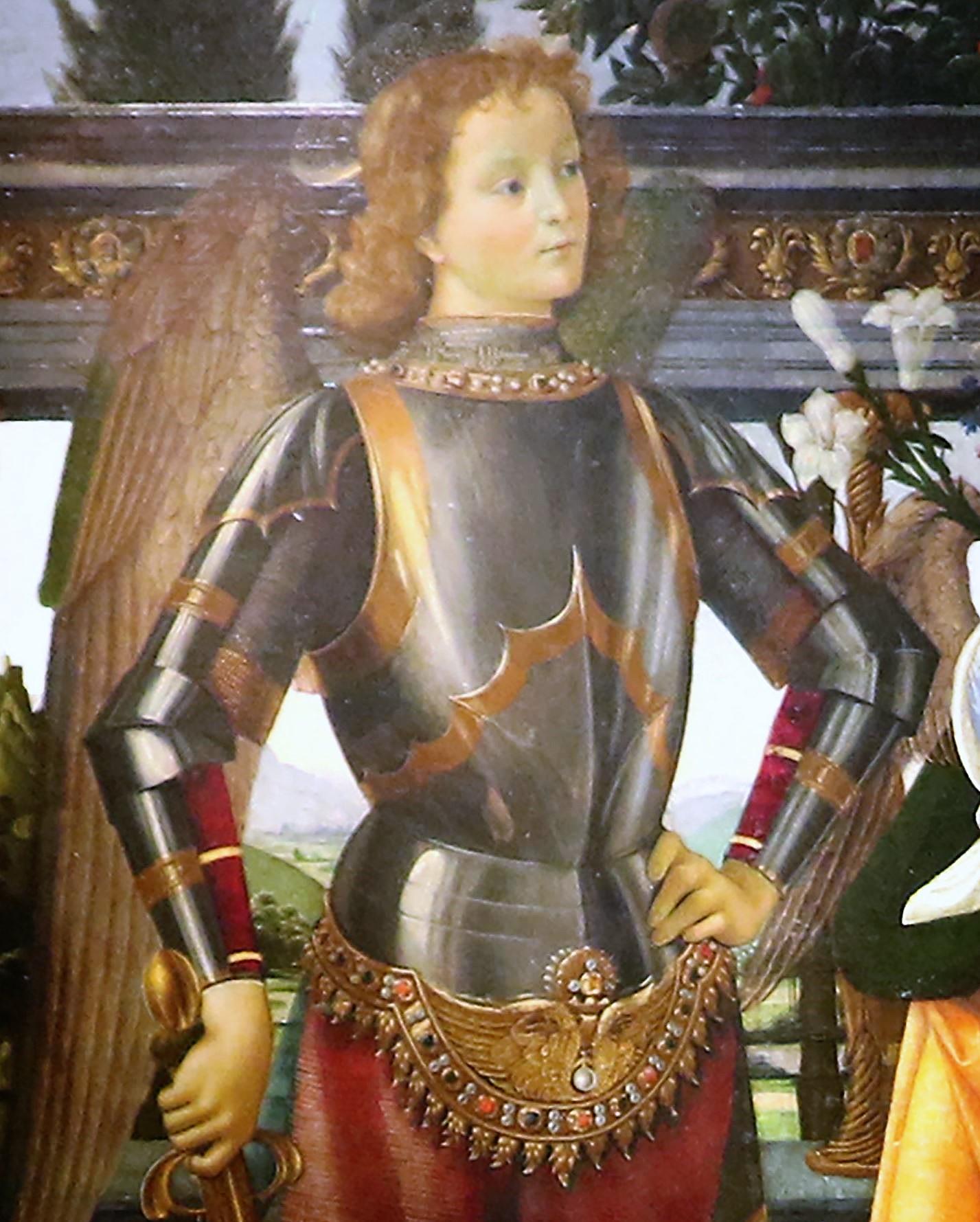 Sacra conversazione degli Ingesuati Domenico Ghirlandaio, 1484-86 Offices Saint Michel