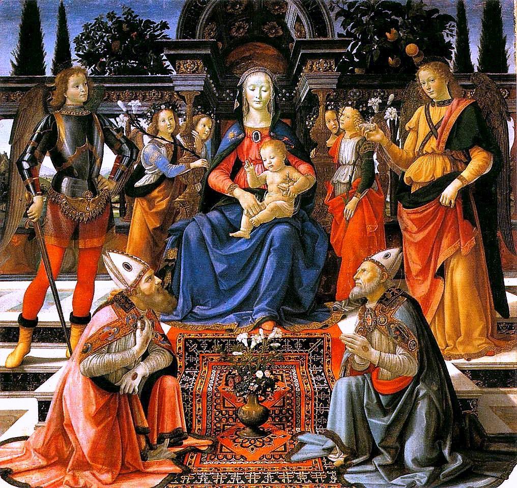Sacra conversazione degli Ingesuati Domenico Ghirlandaio, 1484-86 Offices