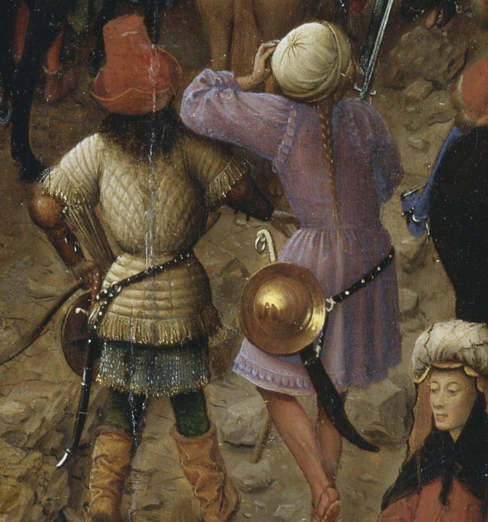 Van Eyck Crucifixion diptych