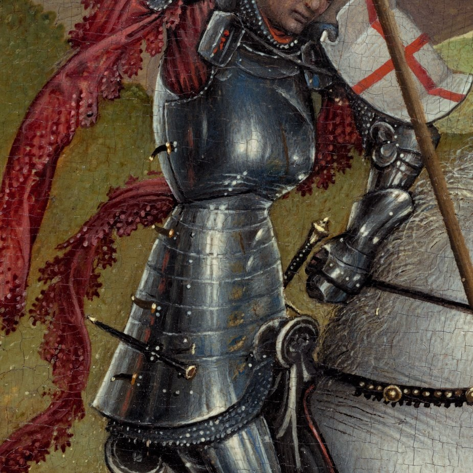 Van der Weyden 1432-35 St Georges et le dragon NGA