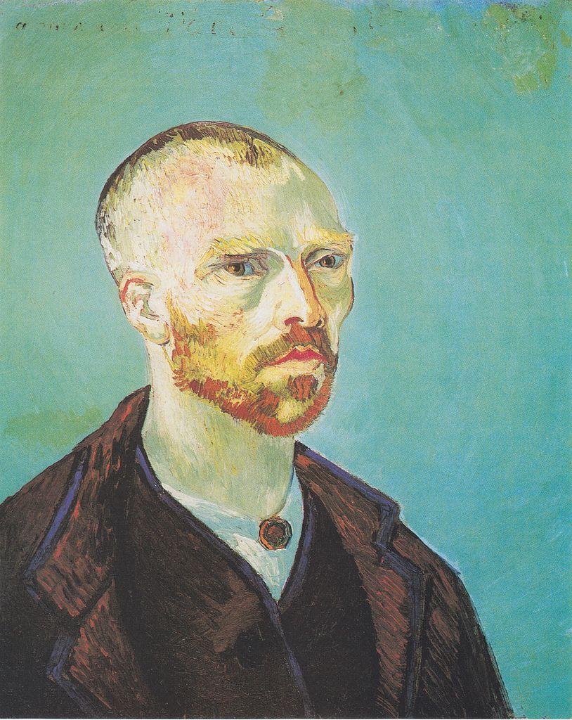 Van_Gogh_-_Selbstbildnis_(Paul_Gauguin_gewidmet) septembre 1888. Harvard University, Fogg Art Museum