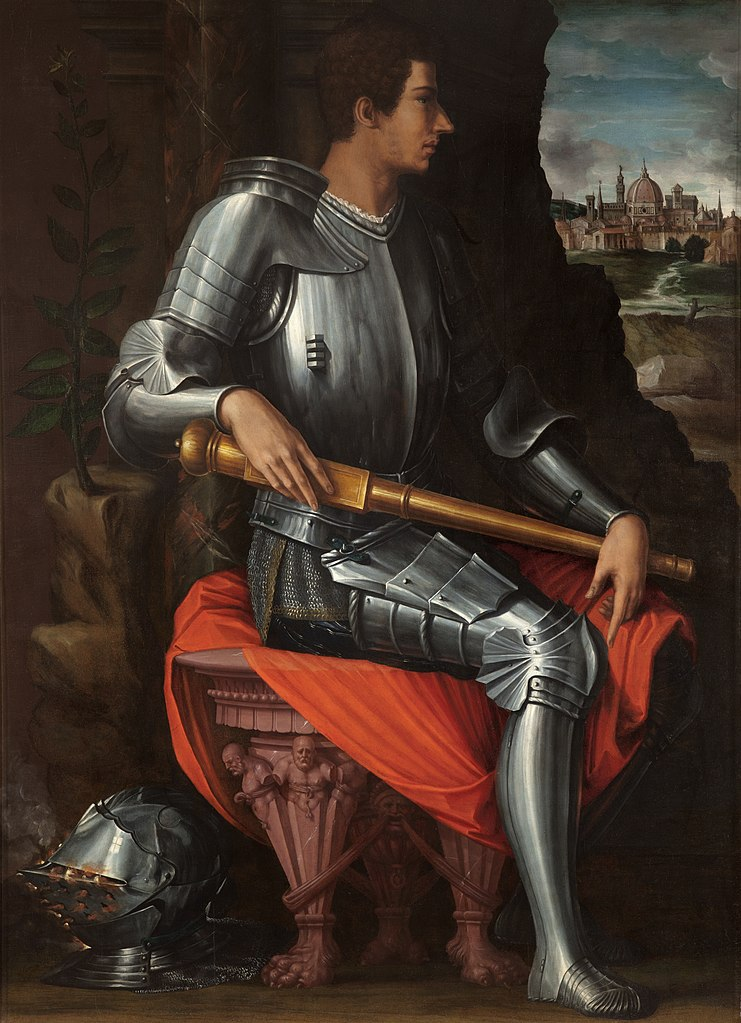 Vasari Portrait d'Alessandro de' Medici, il Moro av 1537 Offices