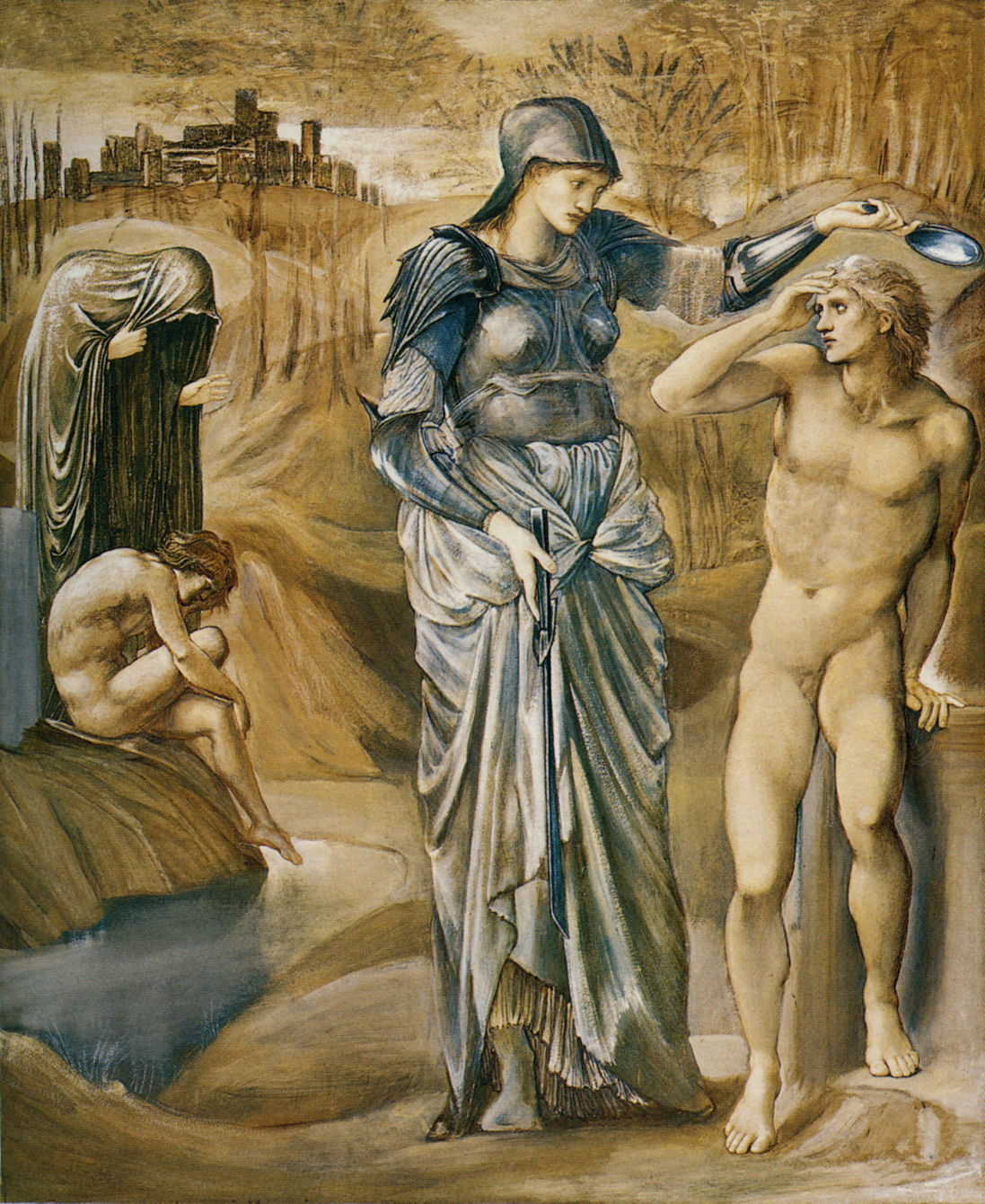 burne jones Cycle Persee 1 1877 L'appel de persee Southampton City Art Gallery