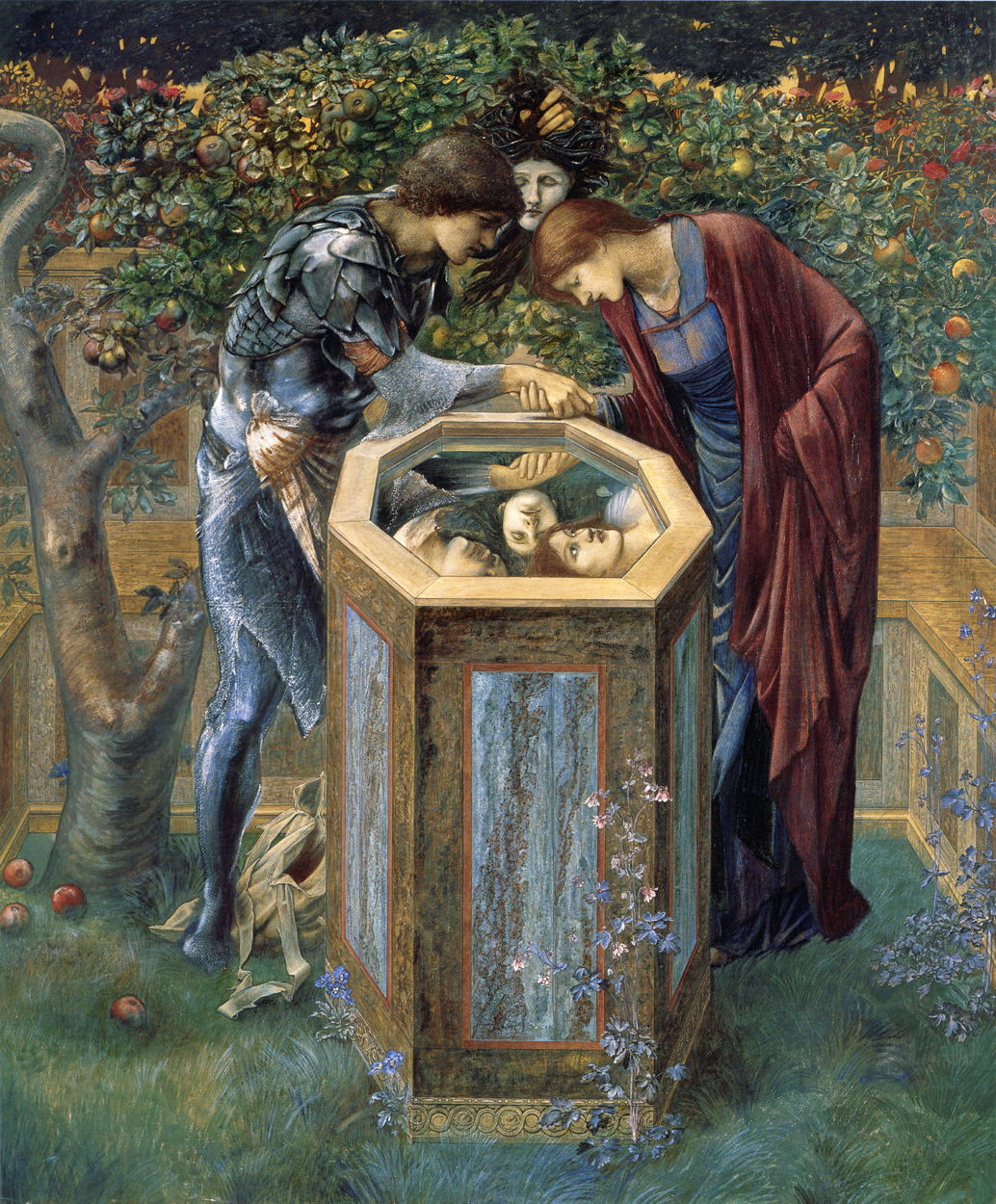 burne jones Cycle Persee 10 1887 The-Baleful-Head-Southampton City Art Gallery,