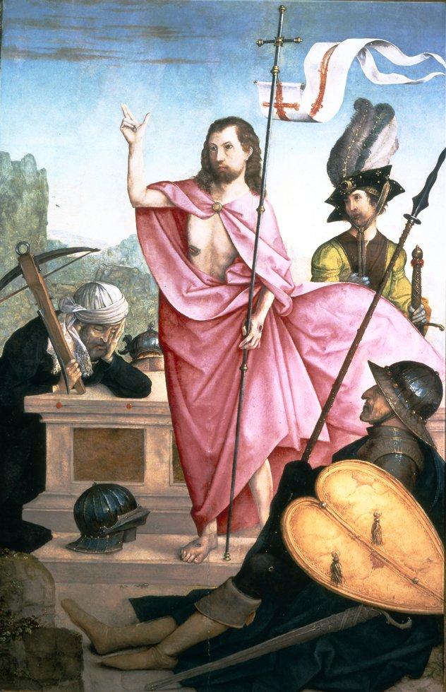 juan de flandes 1508 Resurrection Museo Soumaya Mexico