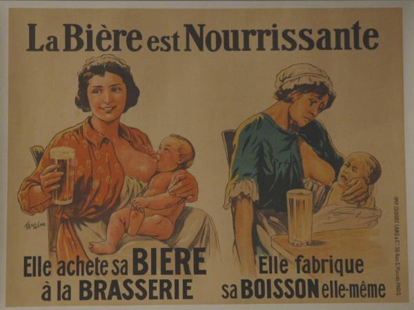 1910 La biere est nourrissante A1