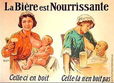 1910 La biere est nourrissante A2