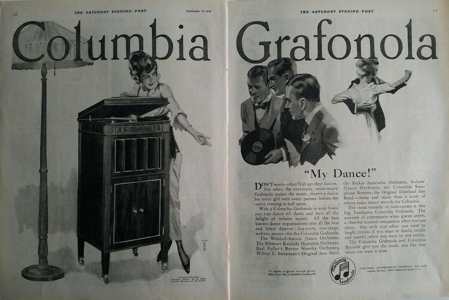 1919 Columbia Grafonola