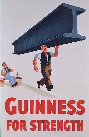 1934 GUINNESS POUR LA FORCE par John Gilroy monopage