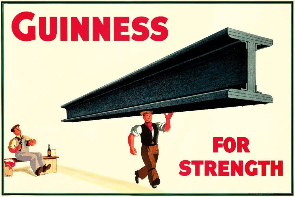 1934 GUINNESS POUR LA FORCE par John Gilroy