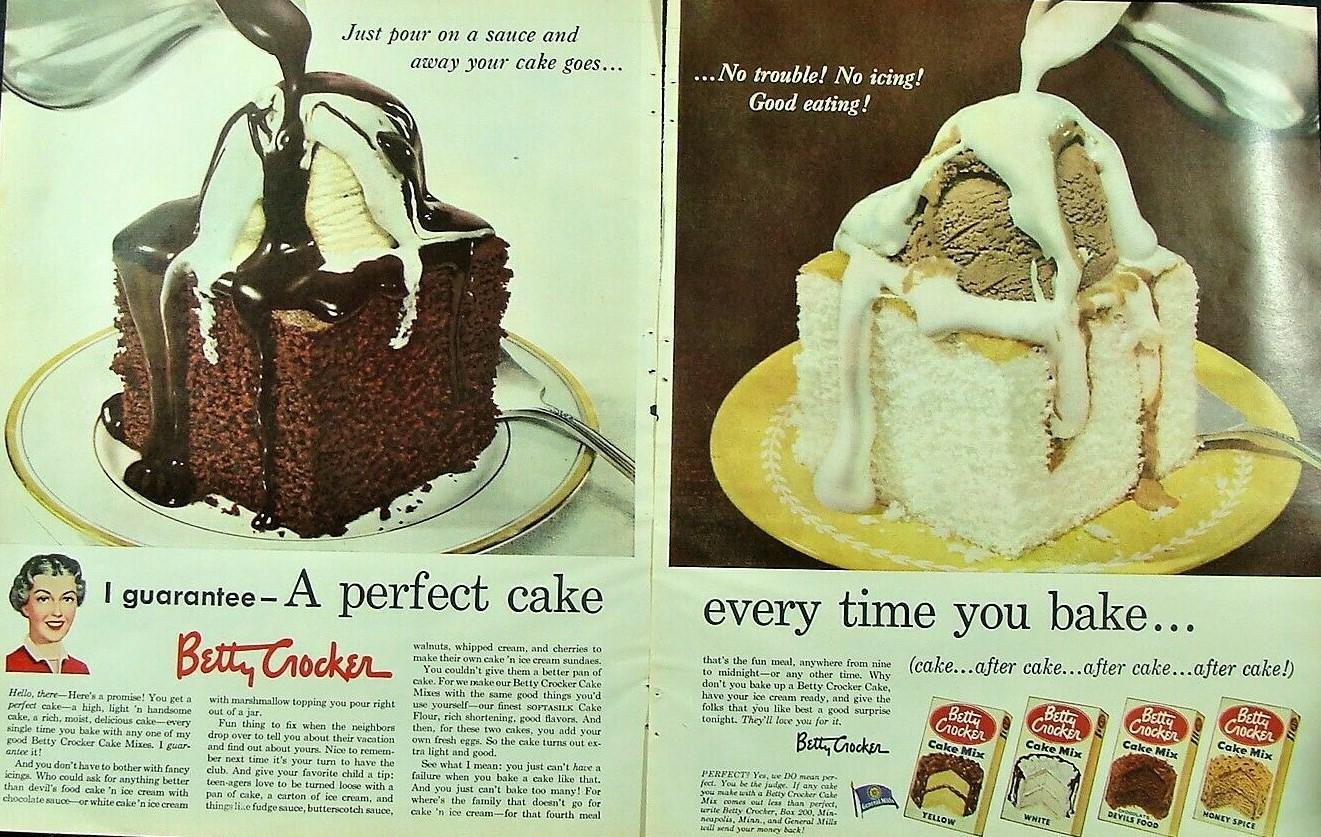 1953 Betty Crocker A perfect cake